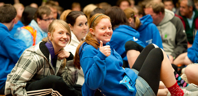 Girls in Girls' Brigade conference
